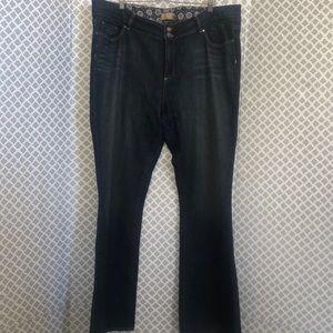 Paige plus sized denim jeans 20w